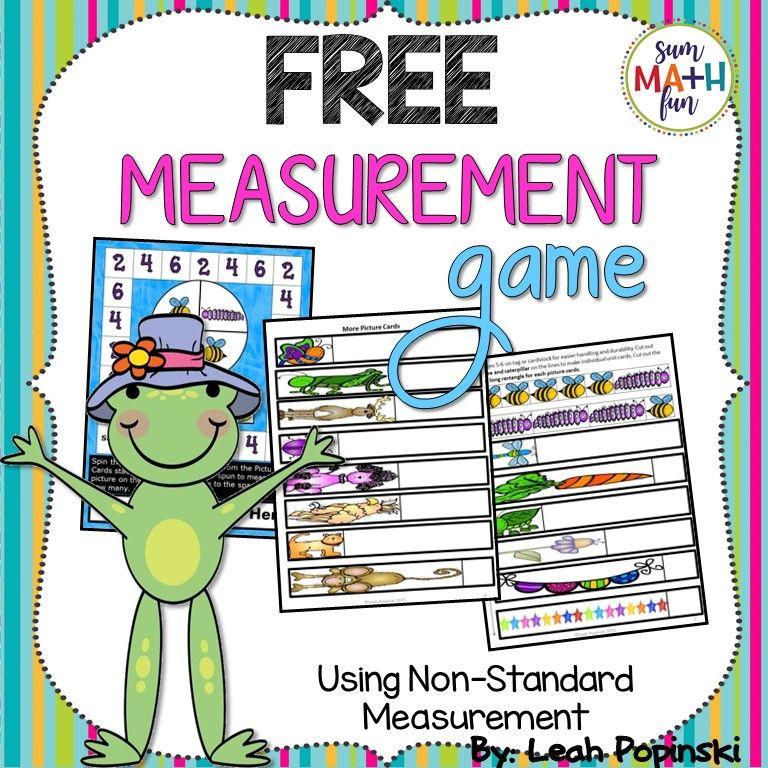 Fun nonstandard measurement free measurement game