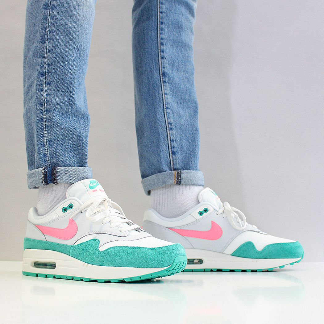 a995504bb5cf The Nike Air Max 1  South beach  and  Watermelon  - Summit - White-Sunset  Pulse at Urban Industry