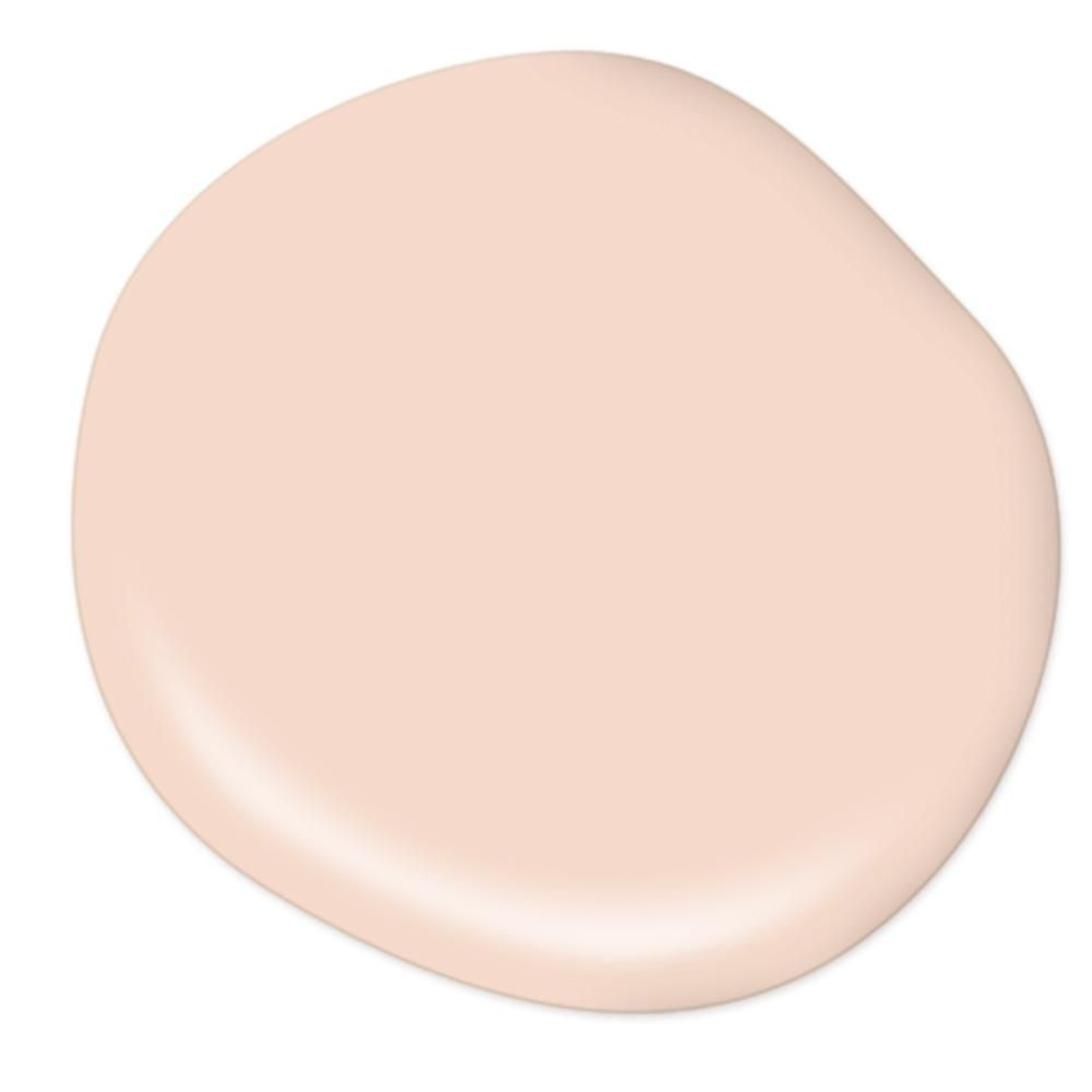 Behr Premium Plus 1 Gal M190 1 Pink Sea Salt Eggshell Enamel Low Odor Interior Paint And Primer In One 205001 The Home Depot Pink Paint Colors Peach Paint Colors Fixer Upper Paint Colors