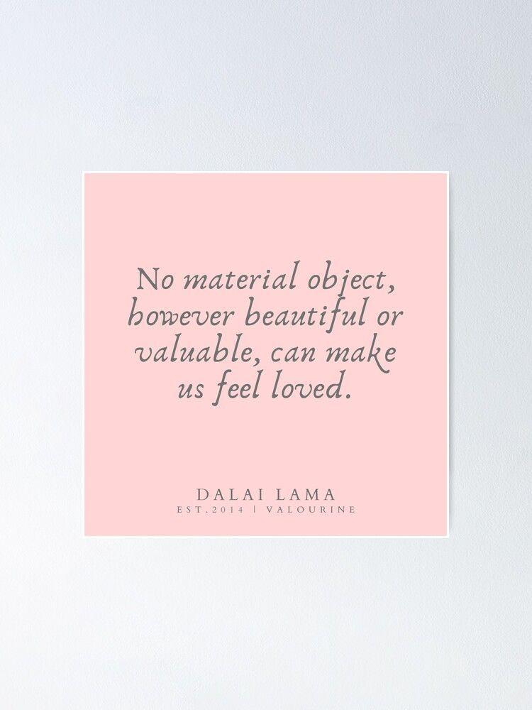 118 | Dalai Lama Quotes 190504  Poster by valourine