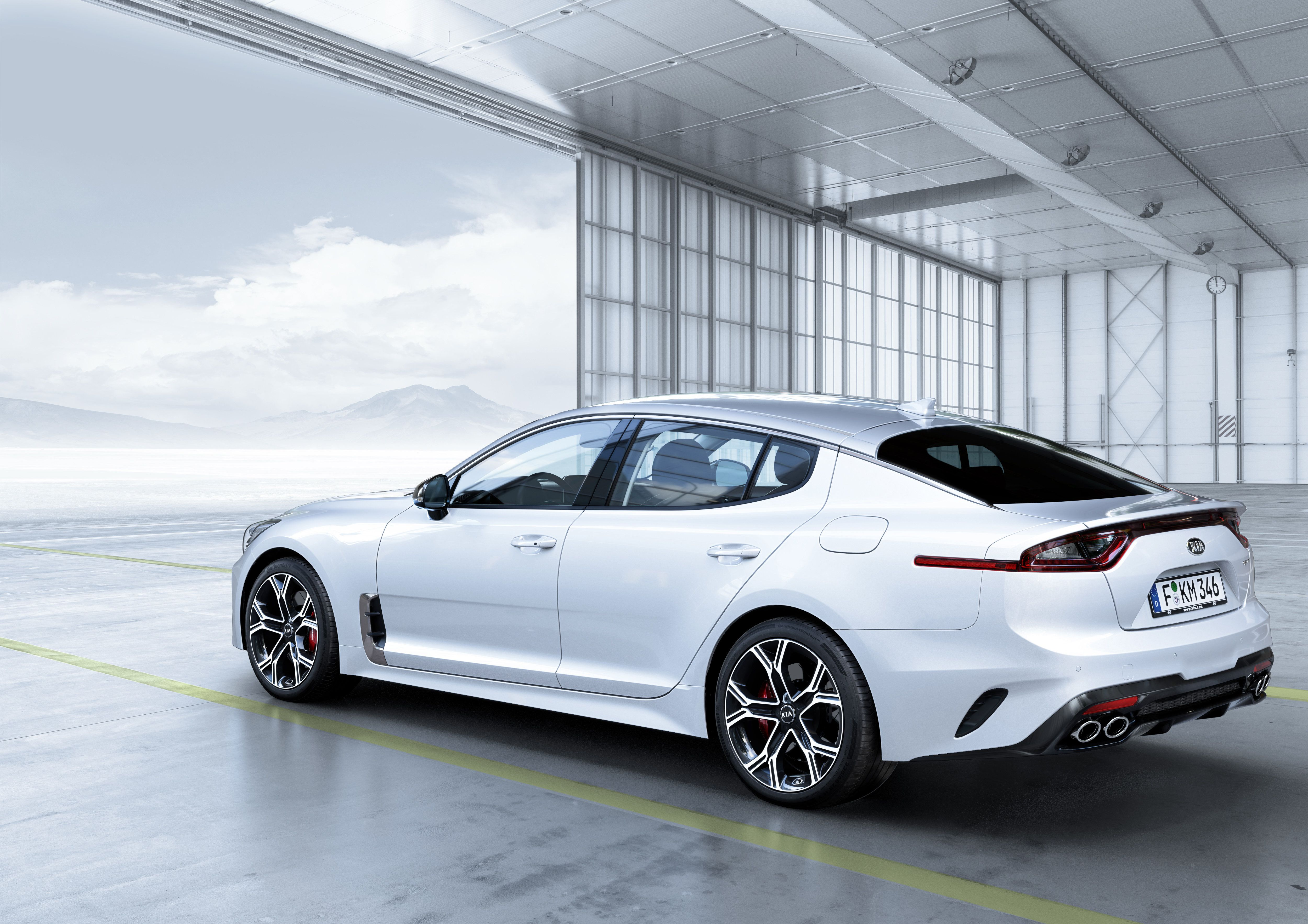 The Kia Stinger Has Been Unveiled Designed In Frankfurt Developed On The Nurburgring And With Kia S Industry Leadi Kia Stinger Kia Motors America Kia Motors