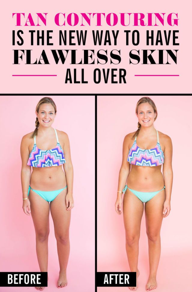 how to make yourself look tanner