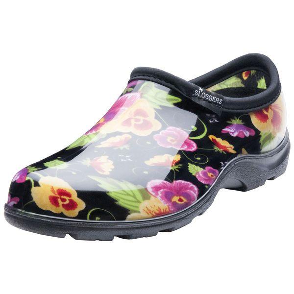 Women S Garden Gardening Clogs Shoes Floral Rain Boots Size 9 Sz