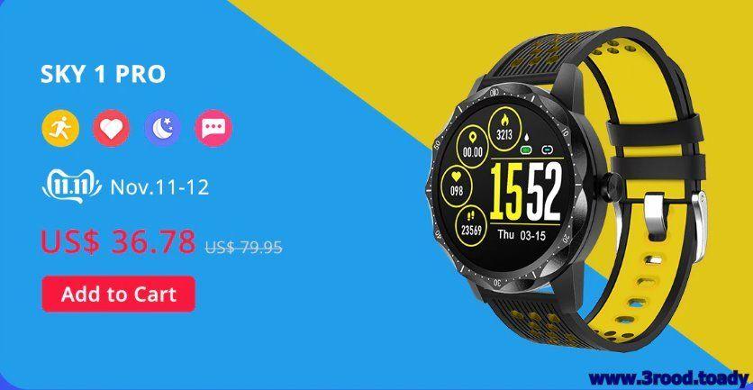 علي اكسبرس افضل المتاجر علي الساعات عروض اليوم Aliexpress Smart Watch Ads