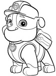 Paw Patrol Coloring Print Outs Coloring Pages Paw Patrol