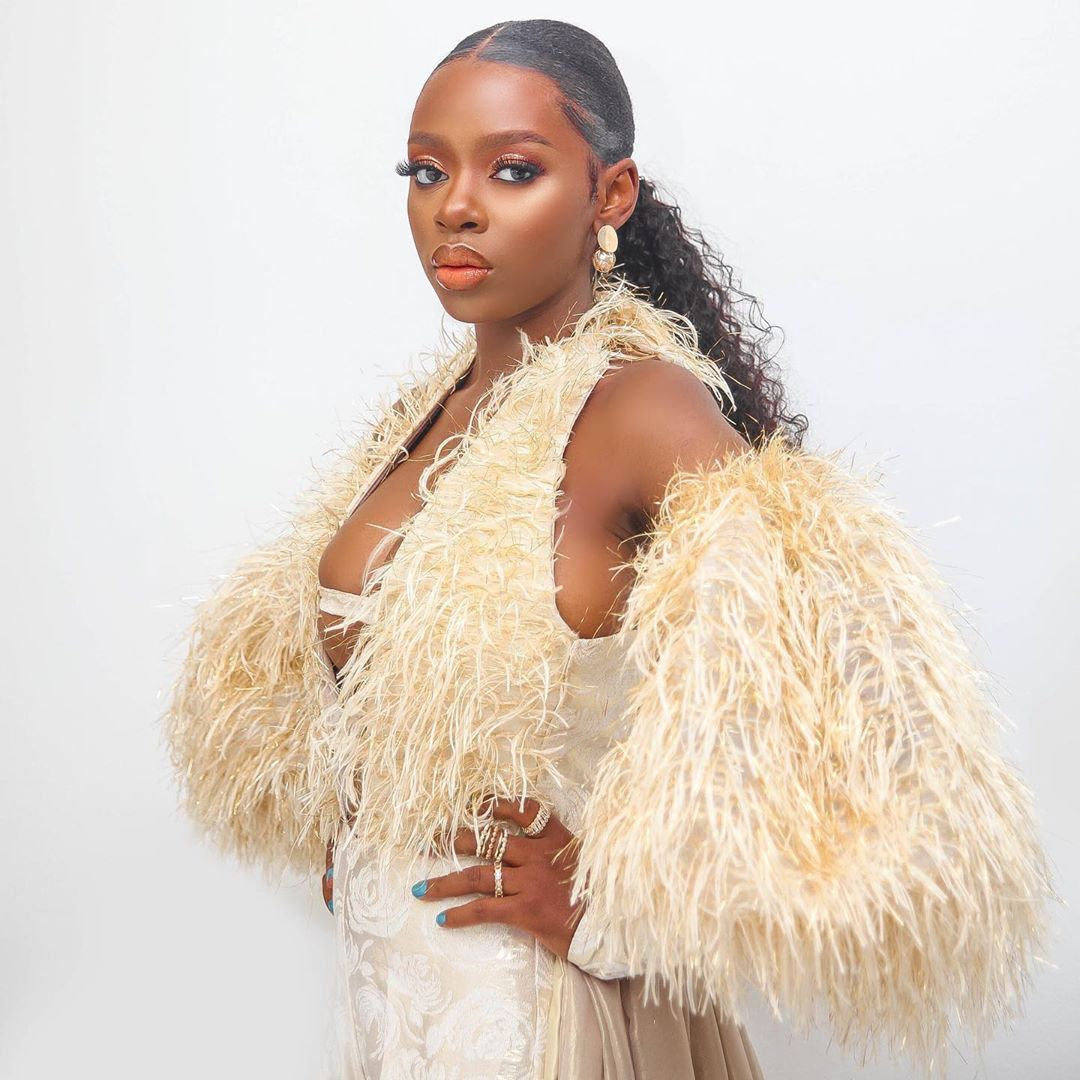 """Your Proof That #BBNaija's Diane Came, Saw & Slayed at the """"Legend of  Inikpi"""" Movie Premiere 