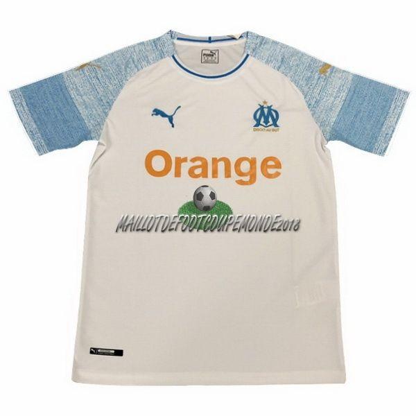 Maillot Olympique De Marseille Domicile 2018-2019   Maillot France ... 103ab55e889b