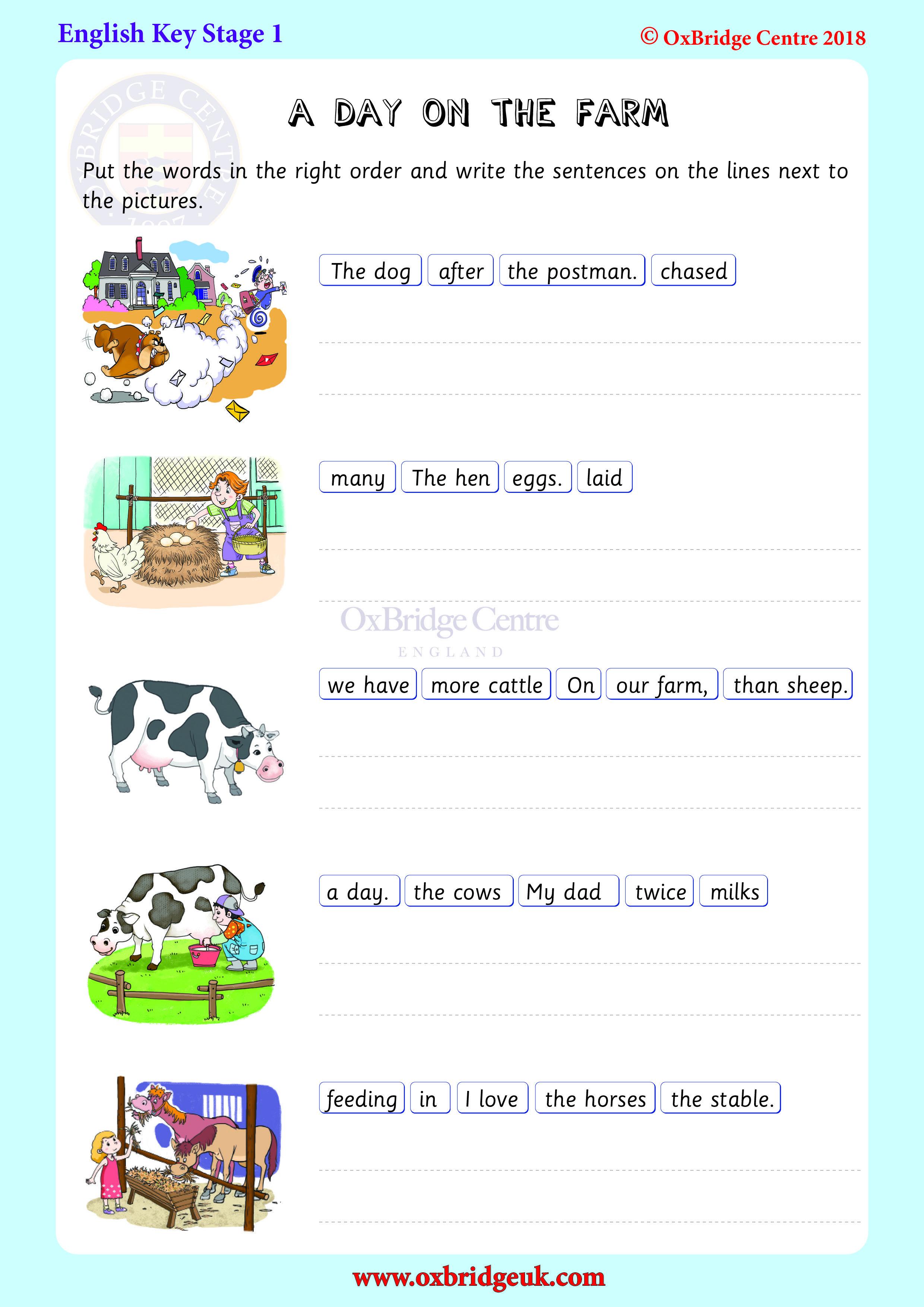 Making Sentences In