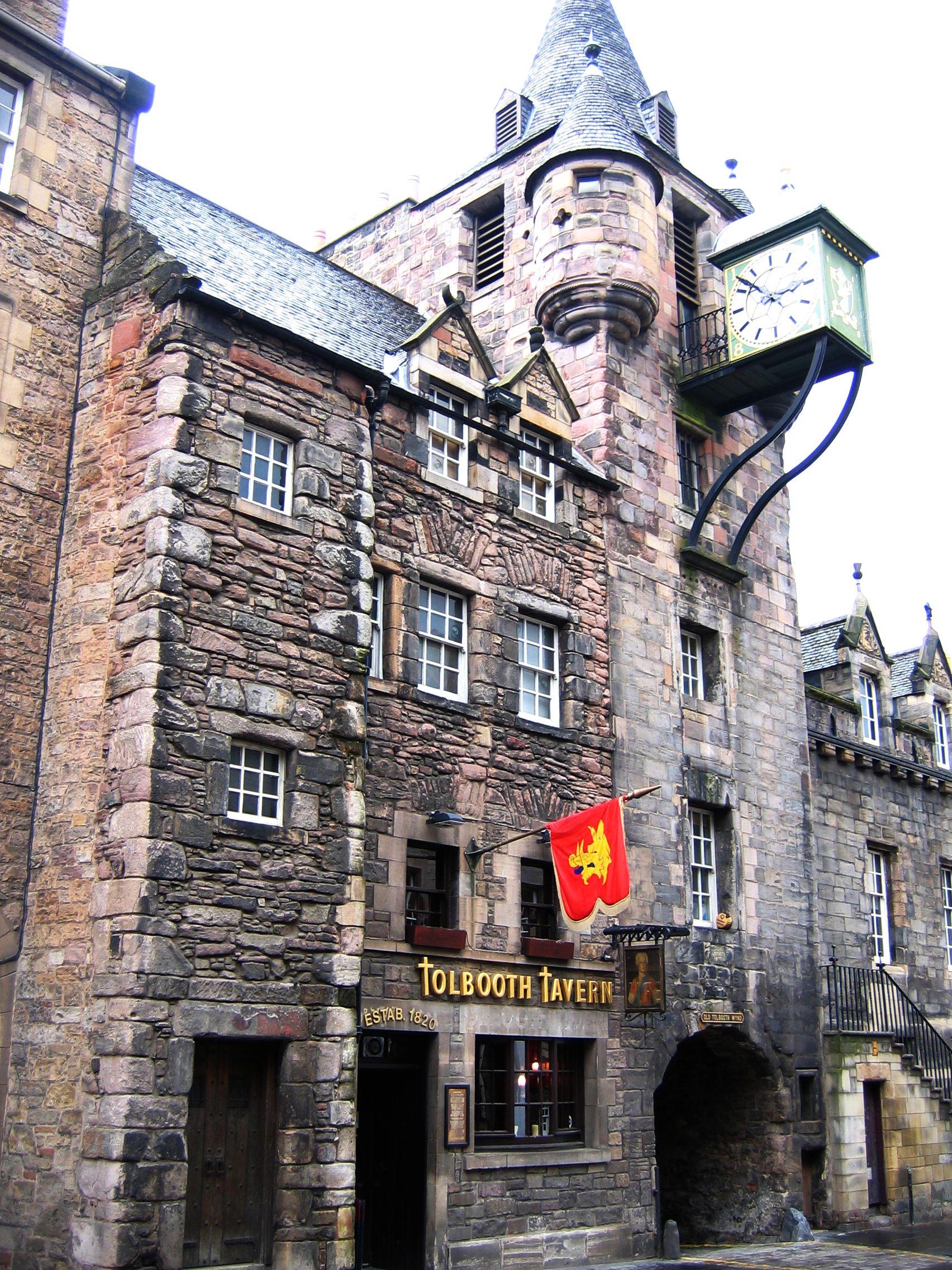 tolbooth tavern on the royal mile edinburgh scotland scotland rh pinterest es