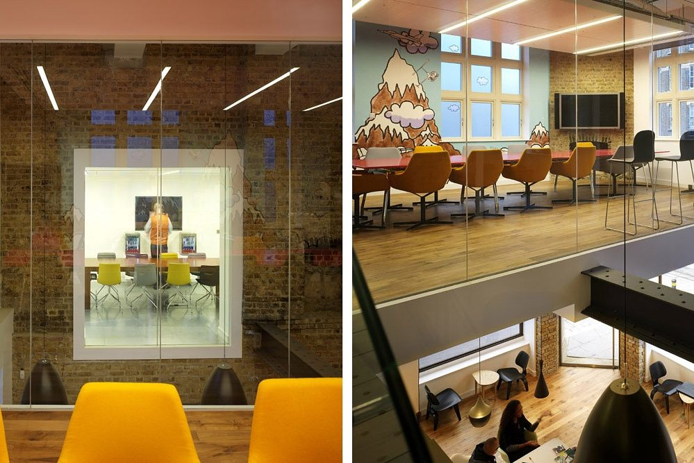 Red Bull Offices designedinterior designer linda morey smith. | interior design