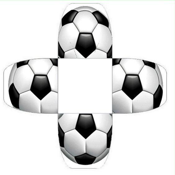 Moldes de caixinhas, lembrancinhas para festas   Soccer   Pinterest ... 52da15aa61