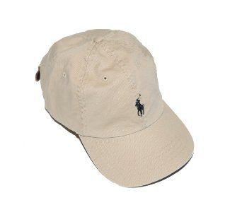 ecc3a4a148468 Amazon.com  Polo Ralph Lauren Men Pony Logo Adjustable Hat Cap (One size