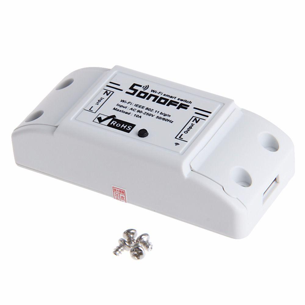 ITEAD WiFi Wireless Smart Switch Module ABS Shell Socket For DIY ...
