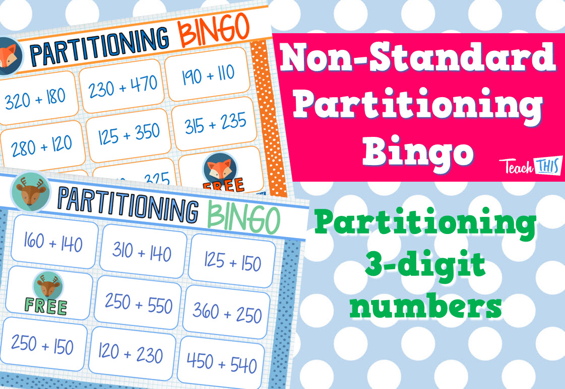 non standard partitioning 3 digit bingo game maths classroom games games bingo games. Black Bedroom Furniture Sets. Home Design Ideas