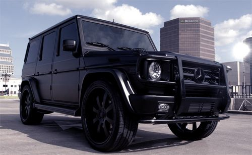 This is the car i will get when i marry my professional for Black mercedes benz g class