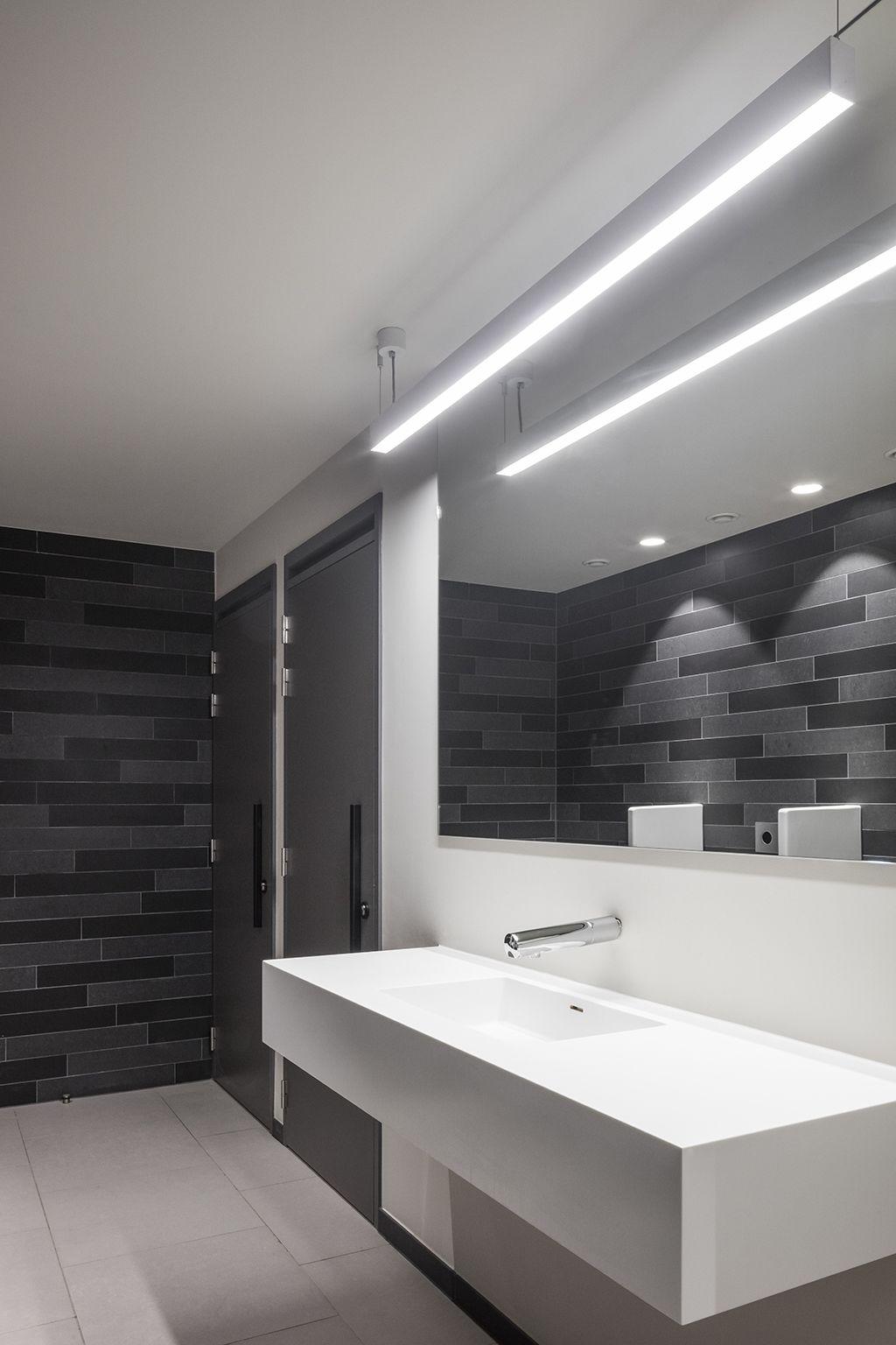 Our Supermodular Sld50 Lighting At The Paters Redemptoristen Design Church In Ghent Belgi Bathroom Recessed Lighting Bathroom Lighting Black Bathroom Light