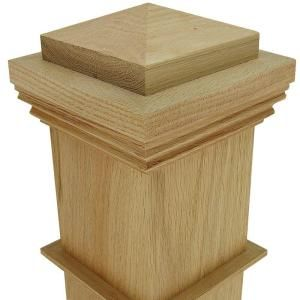 Best Stair Parts 55 In X 5 In Unfinished Poplar Box Newel 400 x 300