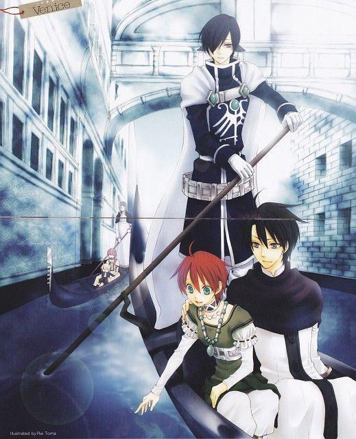 Loki & Nakaba & Caesar | Reimei no Arcana #manga