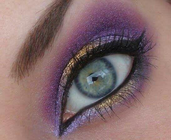 Vikings Eyes Football Eye Makeup Viking Makeup Beauty