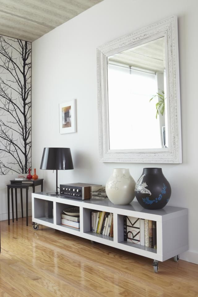 10 ideas para decorar tu sala por poco dinero mesas para for Kenay home espejos