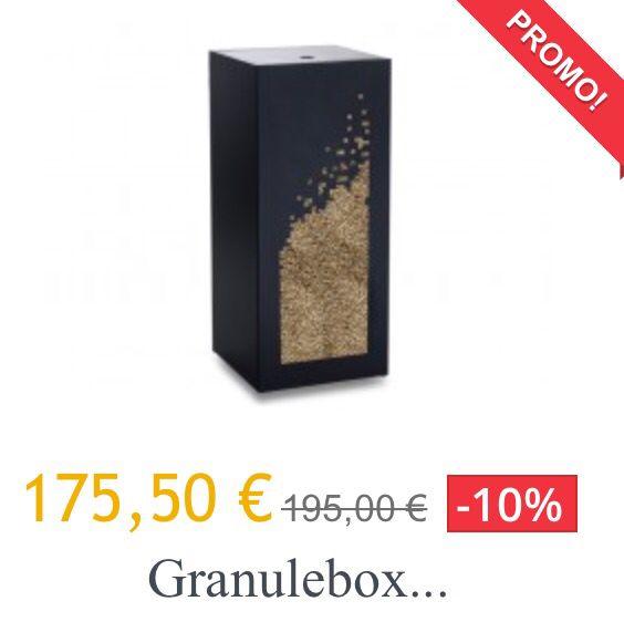 la solution design au stockage de pellet profitez de la granulebox en promo pour vous quipez. Black Bedroom Furniture Sets. Home Design Ideas