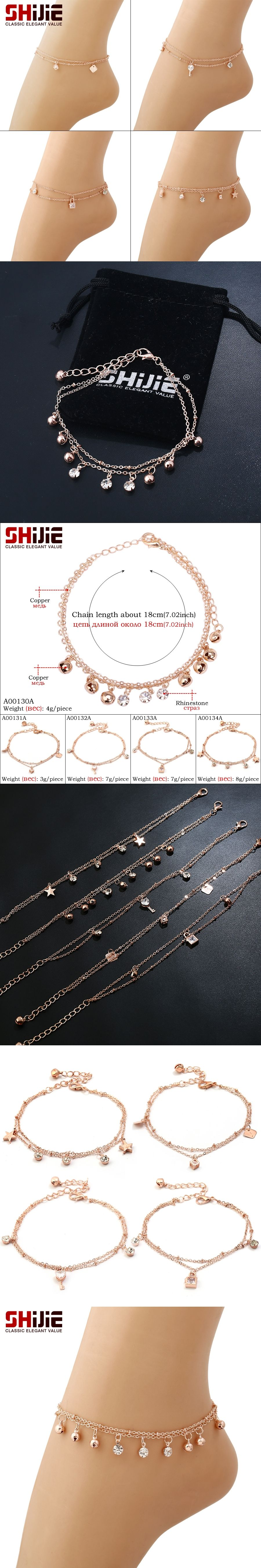 anklets silver red online oblacoder indian elegant woman rhinestone india for women anklet studded