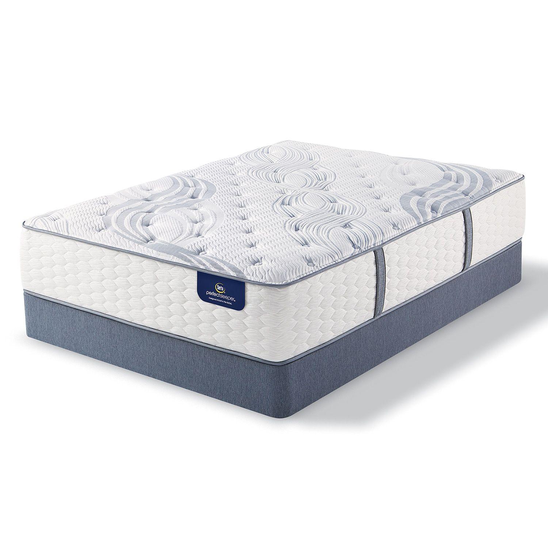 Serta Levesta Luxury Firm Mattress & Box Spring Set Luxury Firm