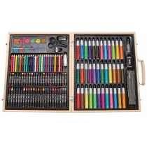 muchas opciones de amplia selección de diseños mejor autentico Set De Pintura Artistica Kit Dibujo Marcadores Arte De Lujo ...