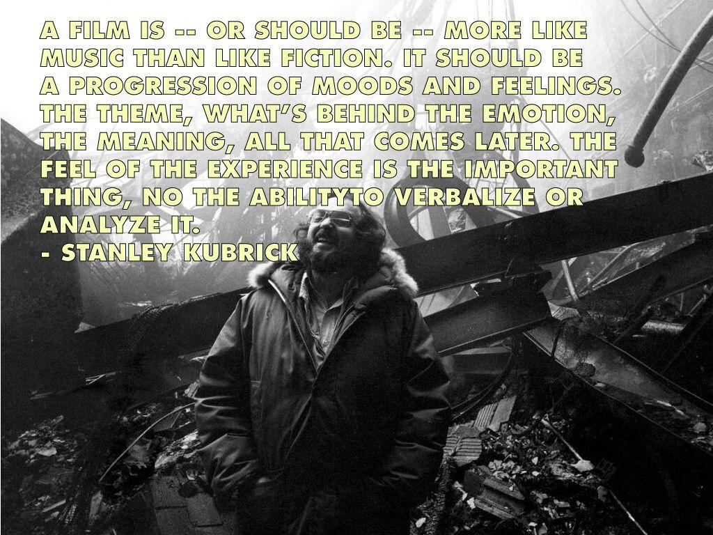 Film Director Quotes Stanley Kubrick Movie Director Quotes