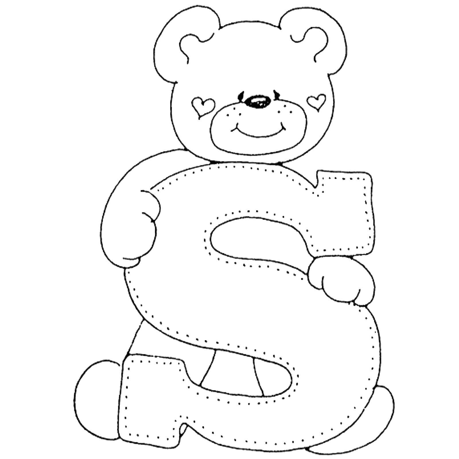 Großartig Süße Teddybär Malvorlagen Zeitgenössisch - Malvorlagen ...