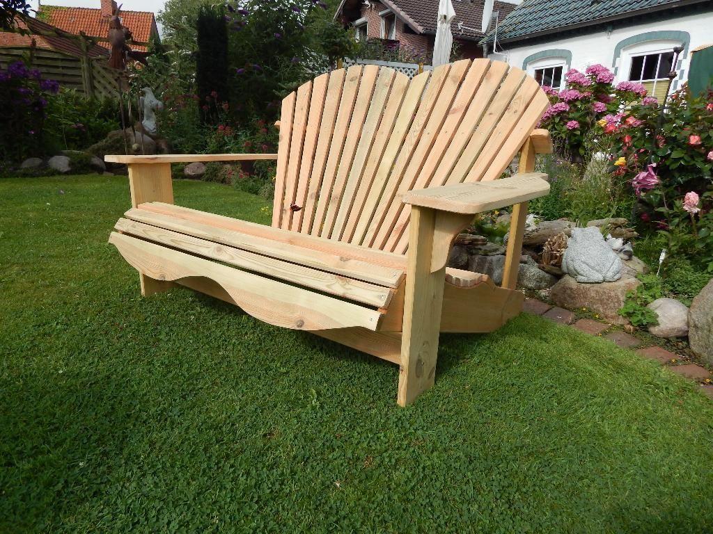 das adirondack chair ist ein handgefertigter gartenstuhl und wird aus hochwertigen. Black Bedroom Furniture Sets. Home Design Ideas