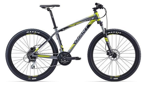 Giant Talon 27 5 4 Charcoal Yellow Go Ride Com Bicycle Shop Salt Lake City Utah Bike Bike Bike Hardtail Mountain Bike Xc Mountain Bike Trek Mountain