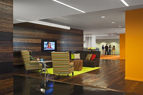Good Design Office Interior. 30 Ejemplos De Oficinas Diseñadas Con Madera.  Modern Officescorporate Officesinterior Design