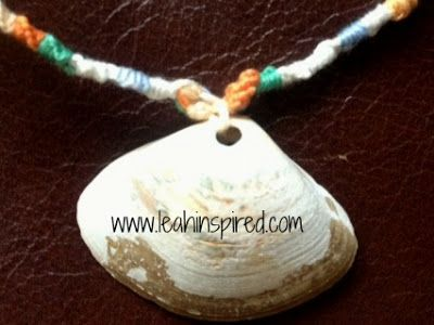 Leah Inspired: Friendship Seashell Necklace