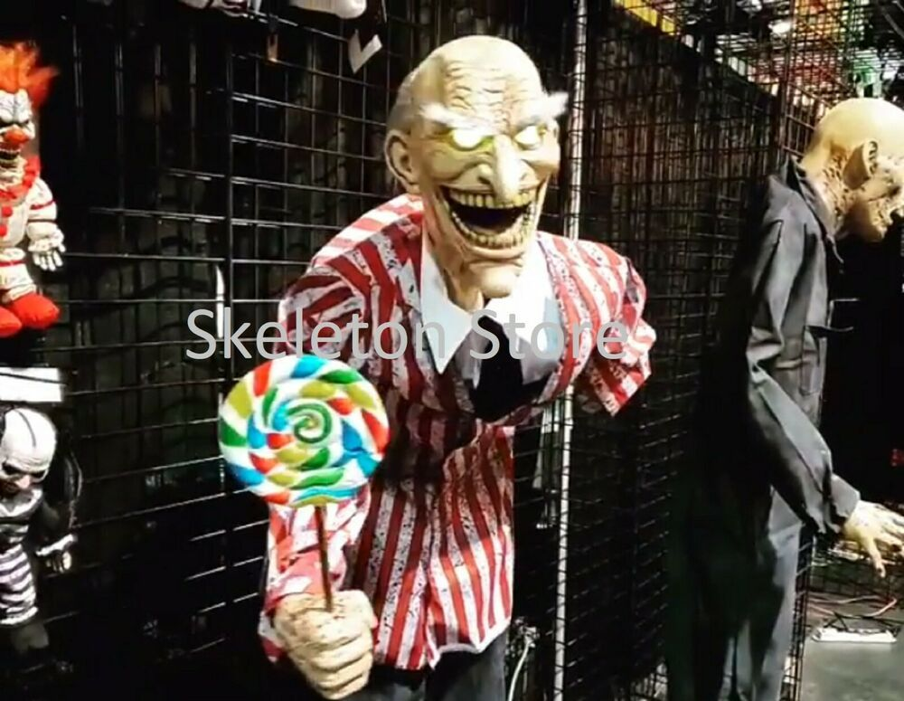 Mr Happy Candy Creep Animated Halloween Horror Prop 2020