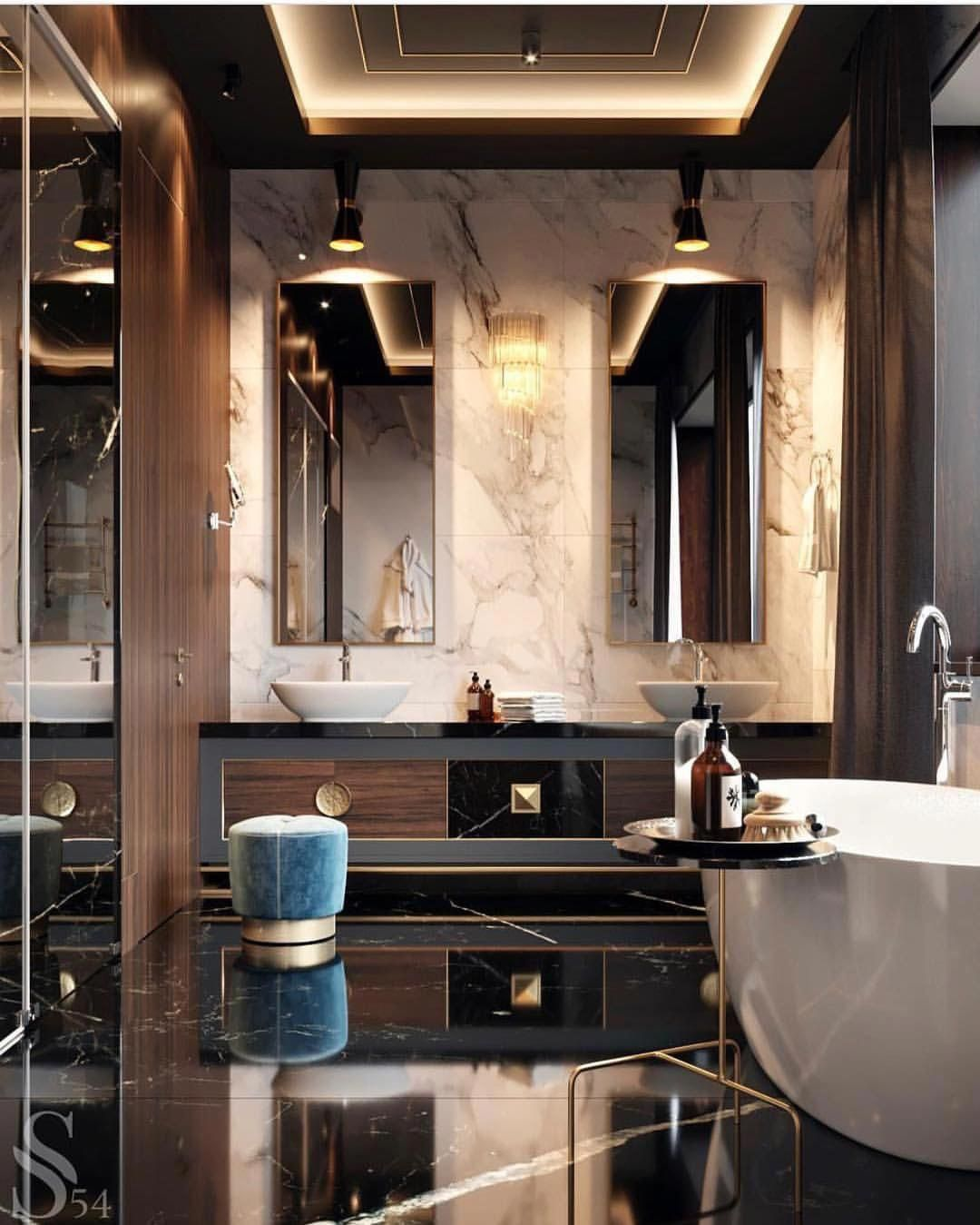 Minimalist Homeoffice Design: Luxury Bathrooms Are Every Not Quite Style Without
