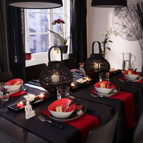 Lichttempel Asian Kitchen Oriental Decor Style Anese Table Party