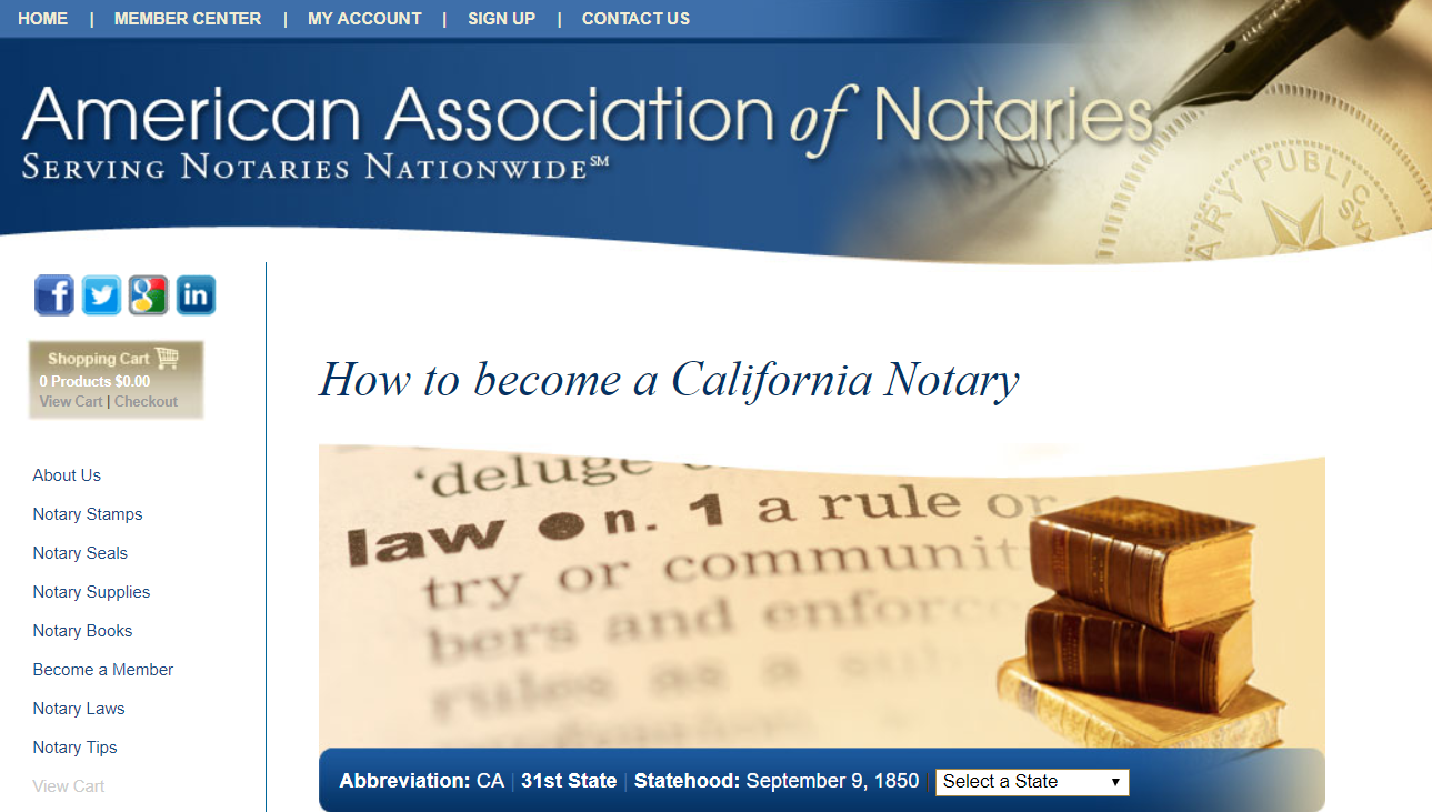 Information on how to become a CA notary public! | How to ...