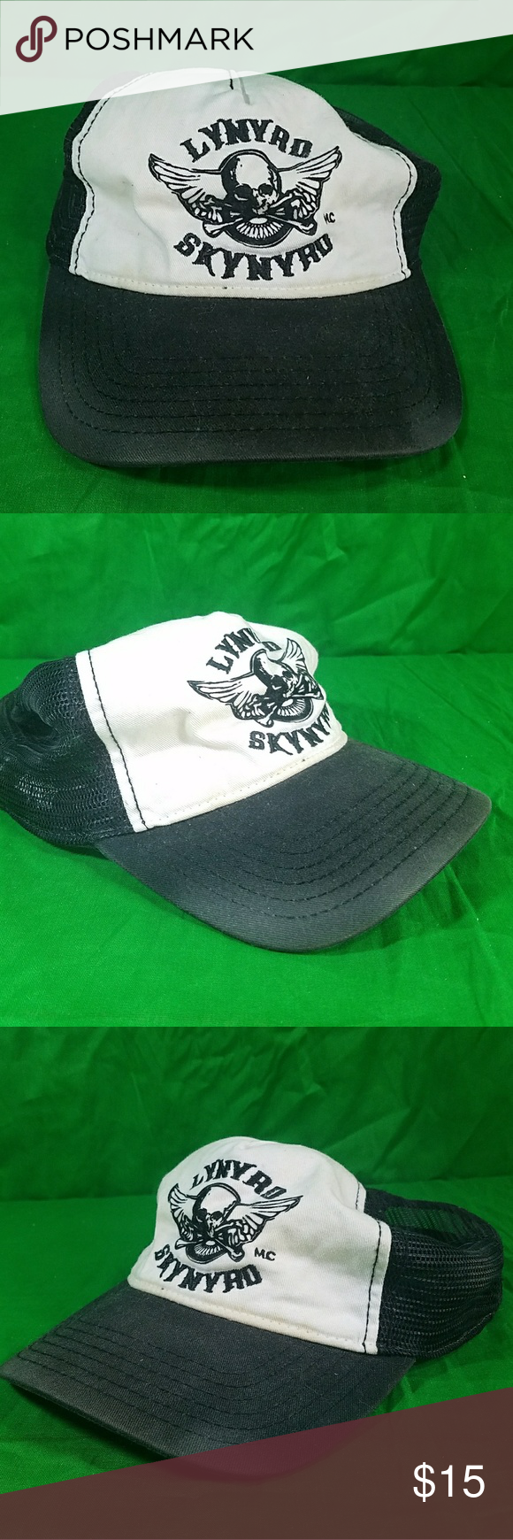 Lynyrd Skynyrd Beat Up Trashed Party Hat Snapback Distressed Destroyed  Discolored Beat up and broke in just how you like it Winterland Accessories  Hats c997cdcbaf3