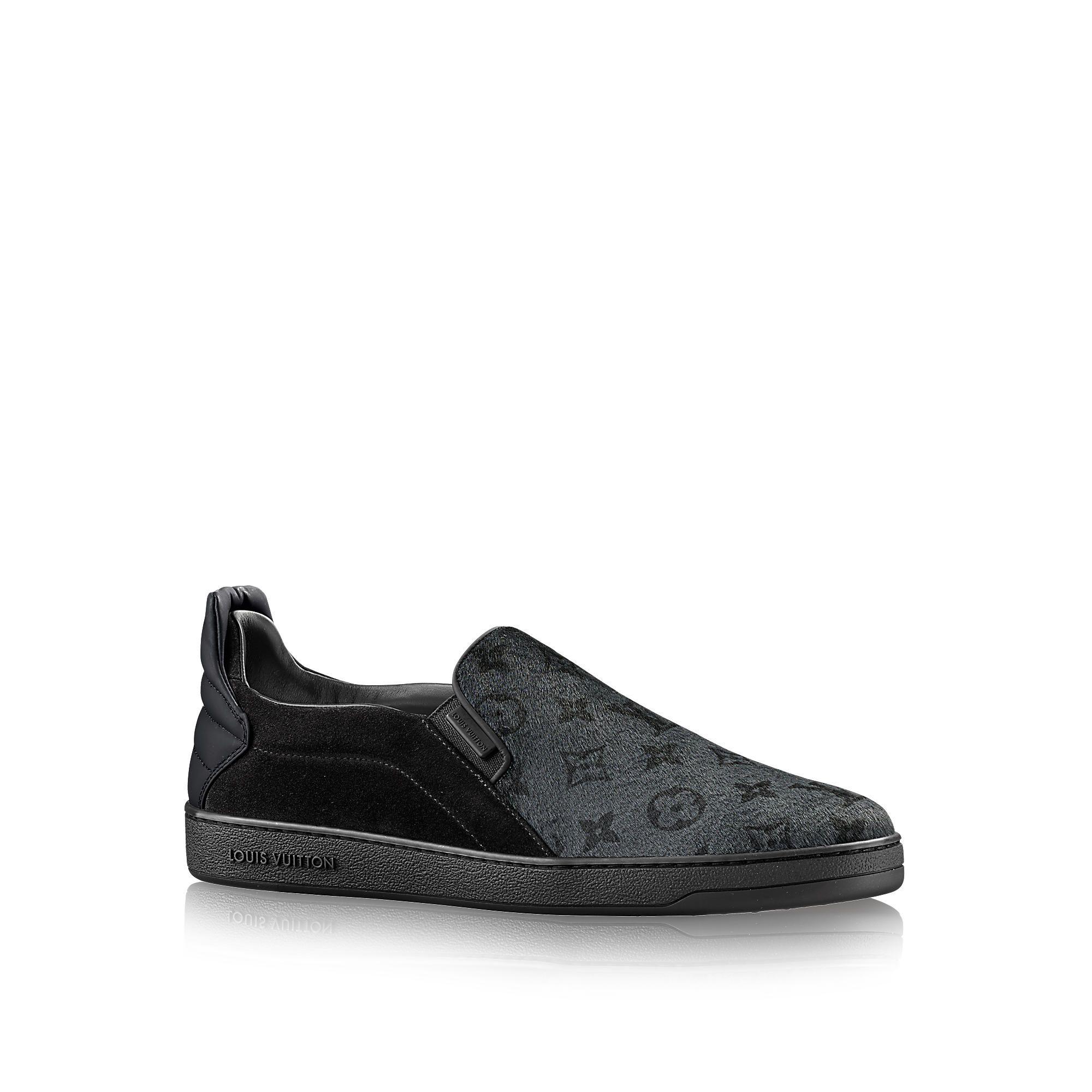 Discover Louis Vuitton Frontrow Slip-On via Louis Vuitton