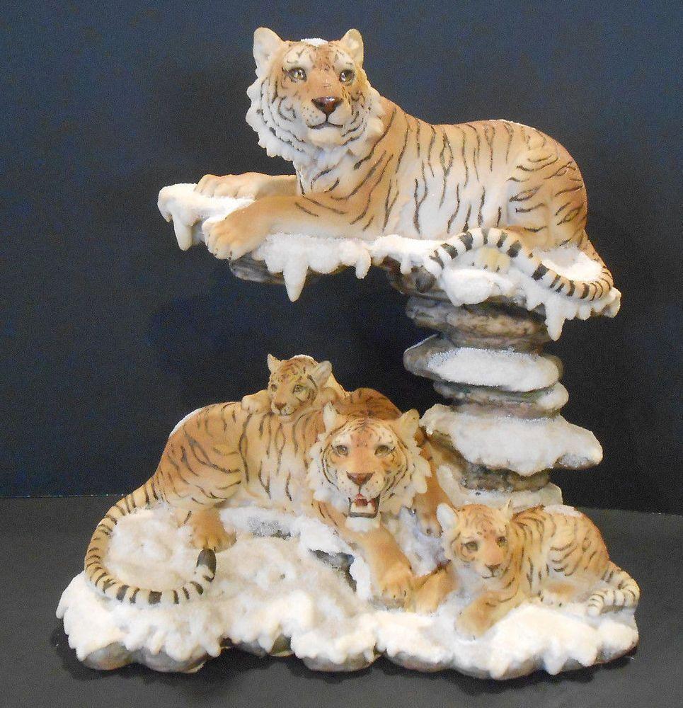 """13"""" Bengal Tiger Statue Figurine Safari Wildlife Wild Cat"""