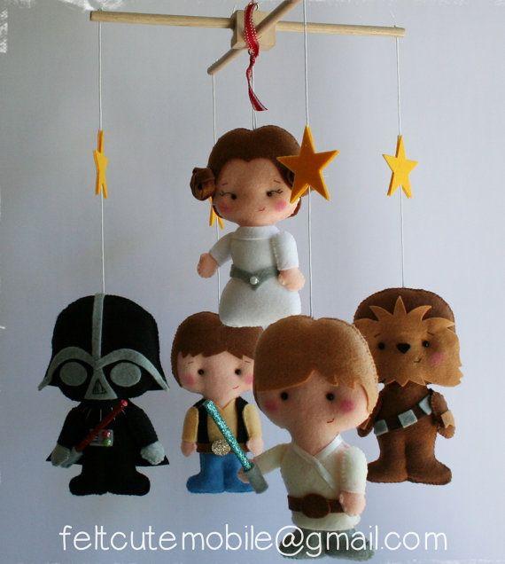 Star Wars Baby Mobile Crib Boy