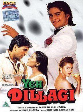 Yeh Dillagi Hindi Movie Online Saif Ali Khan Kajol Akshay Kumar Reema Lagoo Saeed Jaffrey Deven Best Bollywood Movies Old Bollywood Movies Hindi Movies
