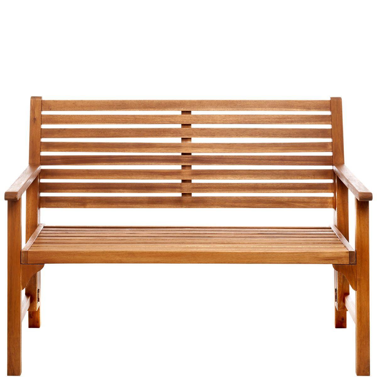 Diese Klappbank 2-Sitzer aus Akazienholz lässt sich einfach transportieren, aufstellen, wegräumen - und kommt mit ihrer engen, leicht geschwungenen Lattung der natürlichen Körperform entgegen. Im Freien sitzen, ins Grüne schauen und das Leben genießen - das wird nie aus der Mode kommen. Deshalb präsentiert sich die hochwertige Somerset Gartenmöbelserie zeitlos-klassisch mit Sinn für Komfort auf Qualität. Für Terrasse, Balkon und Garten.