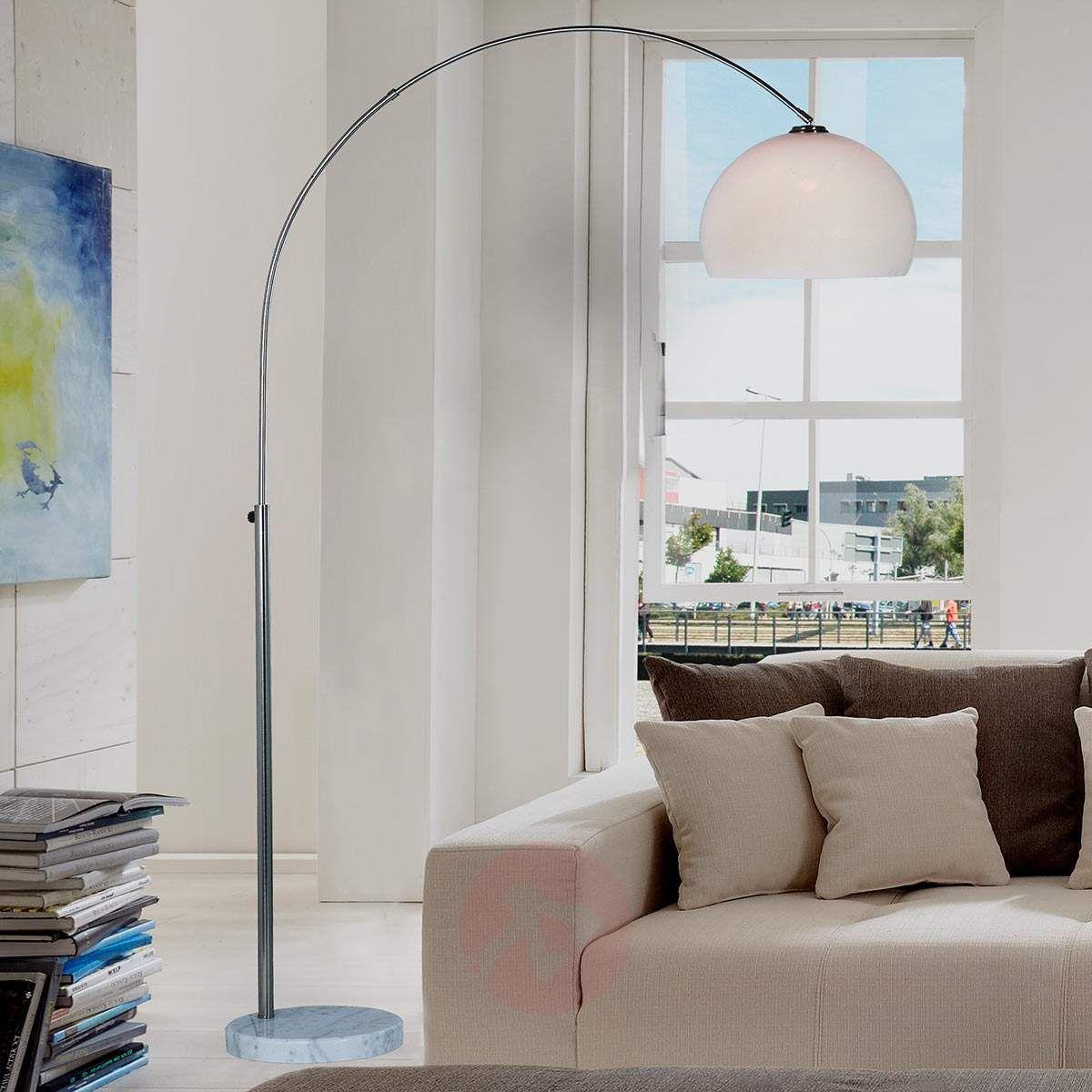 Regulowana Lampa Stojąca Arian Lampy Stojące W 2019