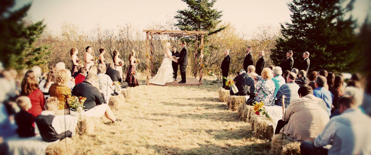 Country Farm Wedding Ideas