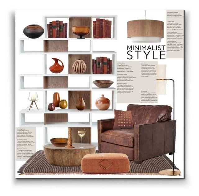 """Minimalist Style"" by marionmeyer on Polyvore featuring interior, interiors, interior design, Zuhause, home decor, interior decorating, Kettal, Arteriors, Lights Up! und Jan Barboglio"
