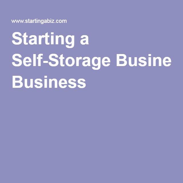 Starting A Self Storage Business