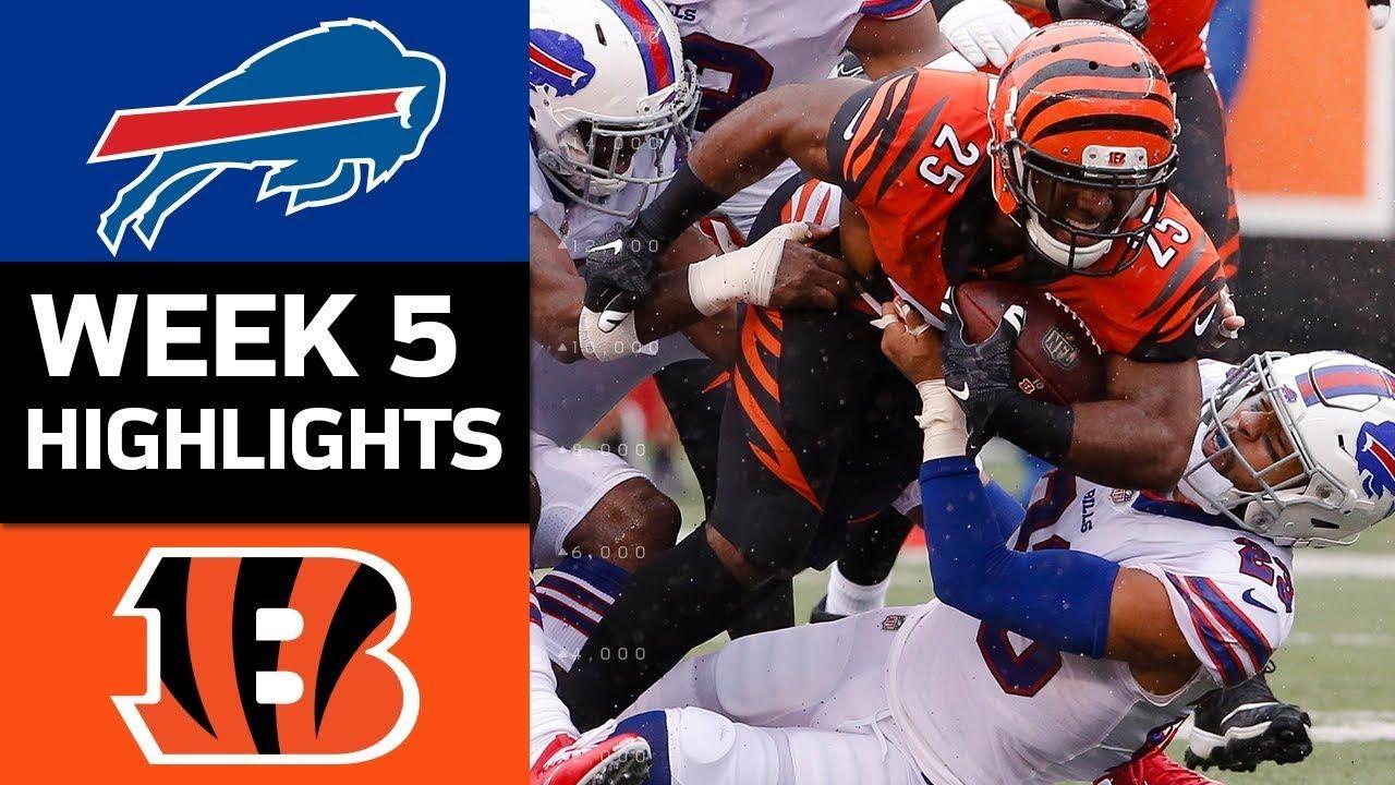 Bills vs. Bengals NFL Week 5 Game Highlights Nfl week