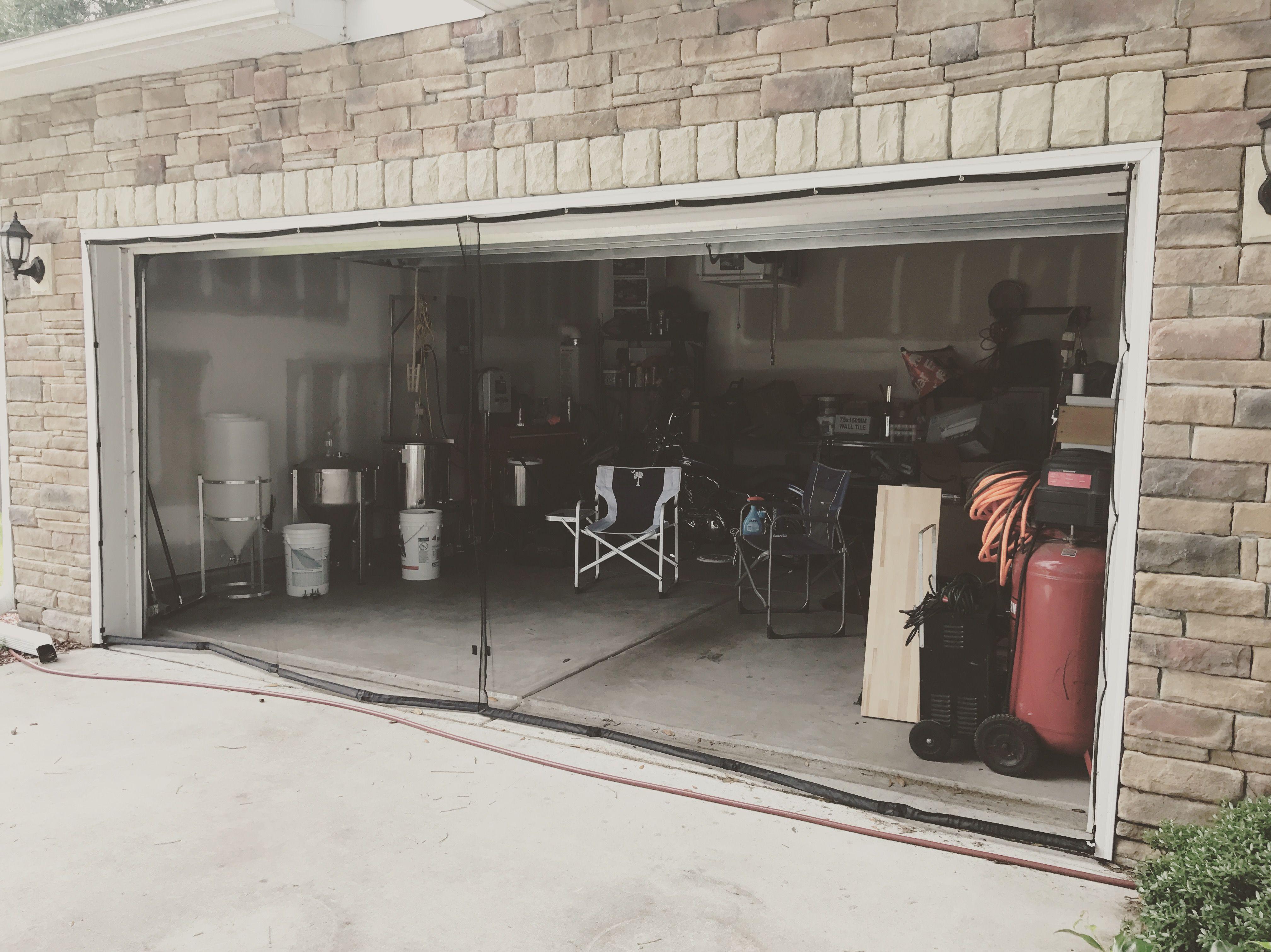 Double garage screen door in 2020 garage screen door